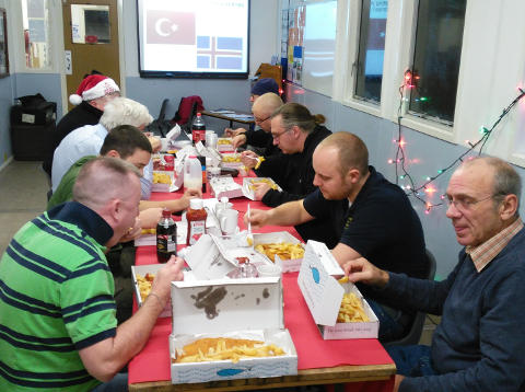 Christmas Fish & Chip evening